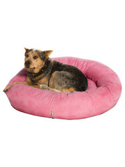 Kakadu Pet Plump Donut Bolster Bed in Kissed