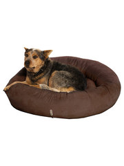 Kakadu Pet Plump Donut Bolster Bed in Rich